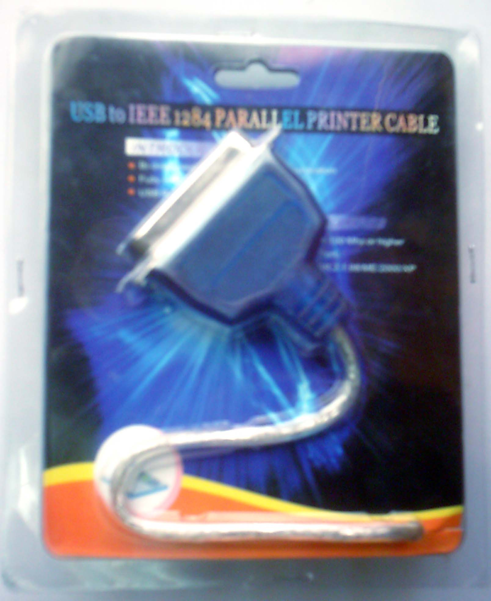 USB to IEEE 1284 Parallel Printer Cable