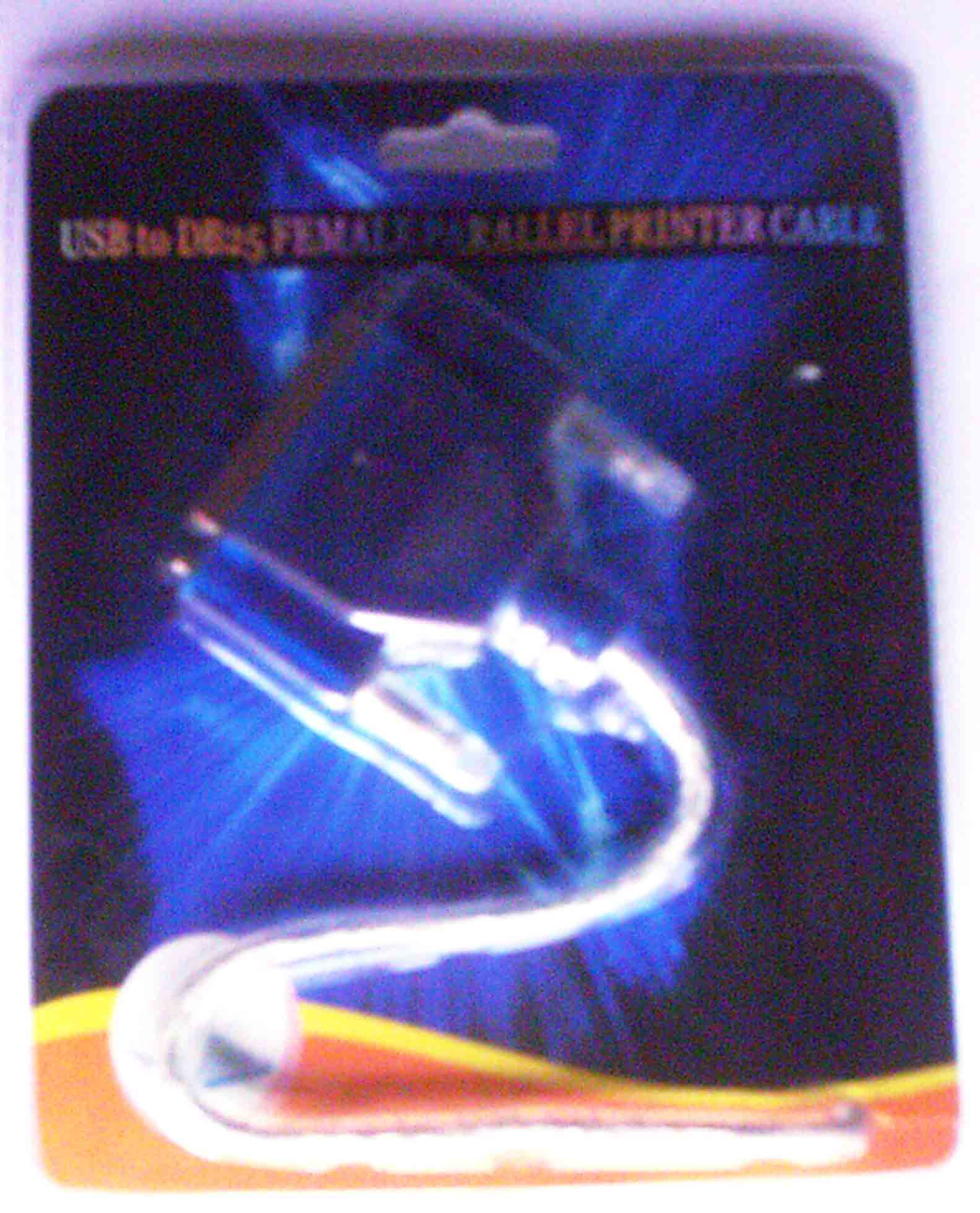 USB to DB25 Female Parallel Printer Cable