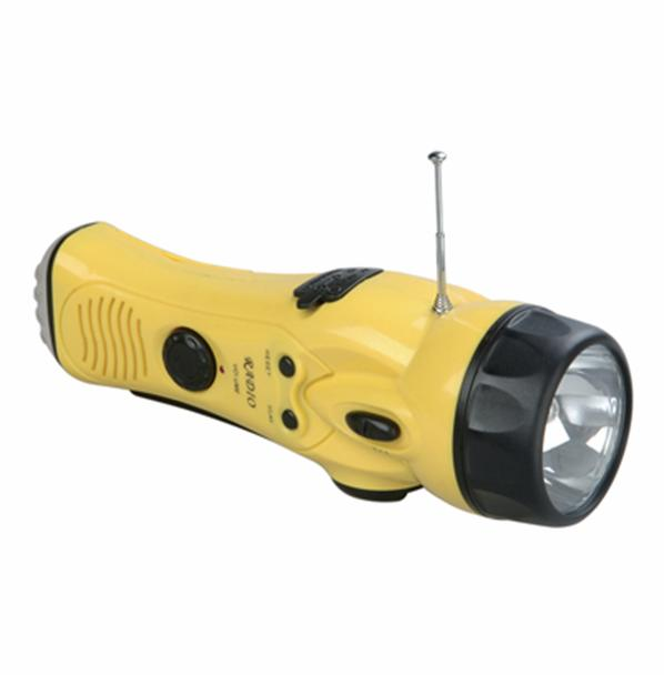 Hand rechargeable flashlight - NHB3